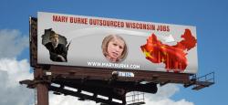 Anti Mary Burke Billboard