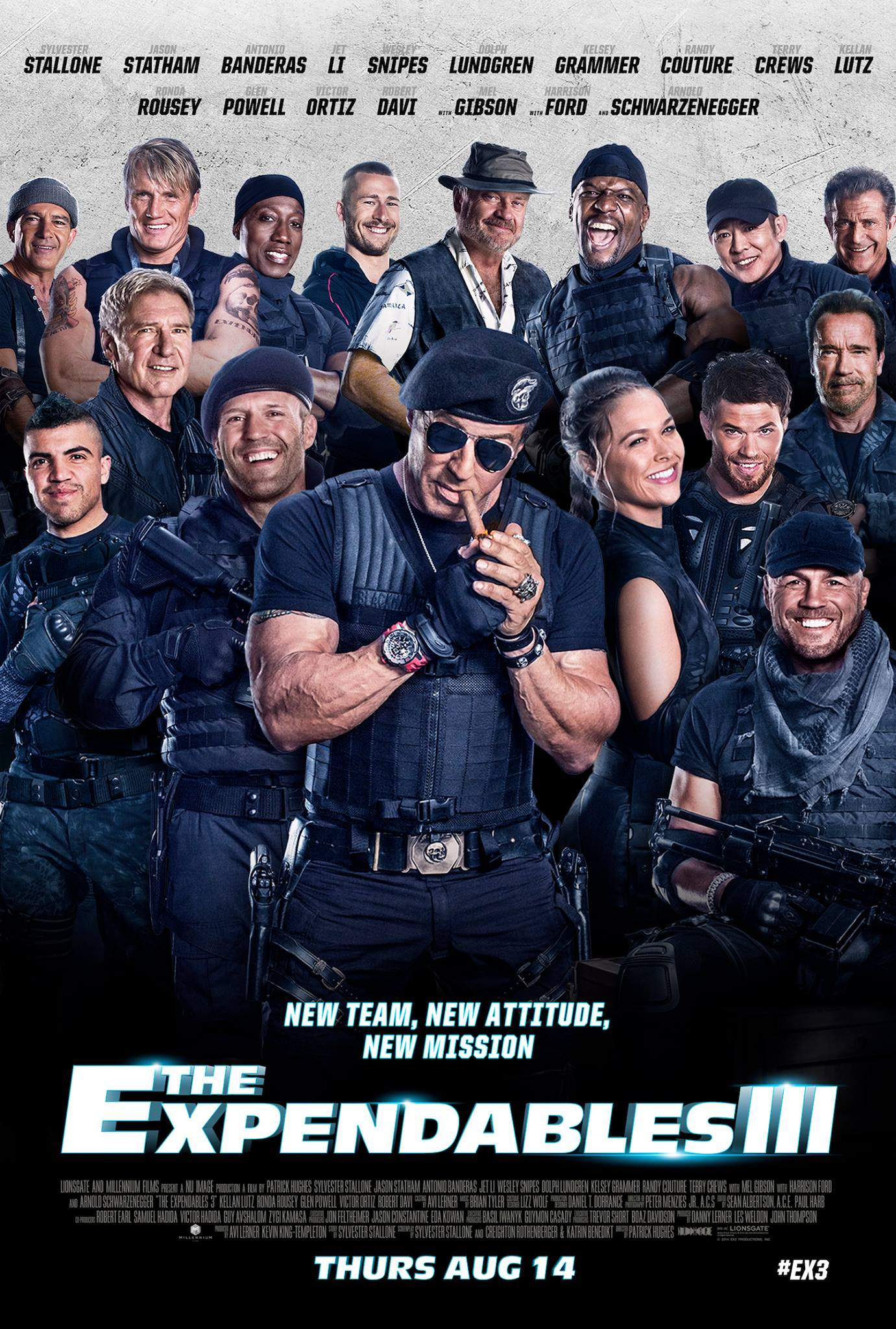 movies the expendables 3 is thrice the schlock 187 urban