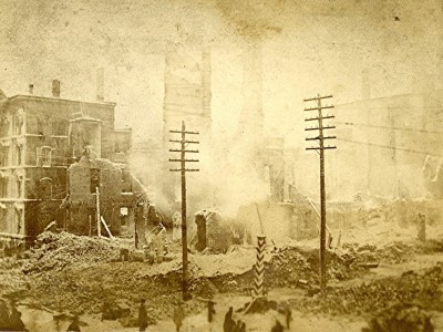 Yesterday's Milwaukee: Newhall House, 1883, After the Fire