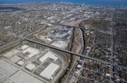Menomonee Valley. Photo from the City of Milwaukee.