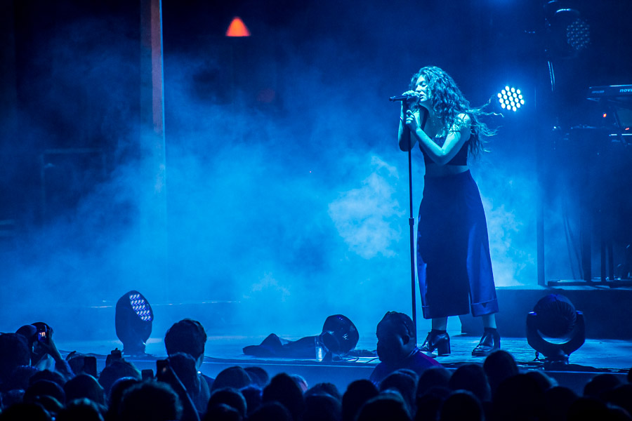 Lorde at BMO. Photo by Benjamin Wick.