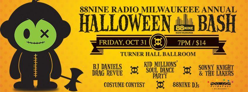 88Nine Radio Milwaukee Annual Halloween Bash