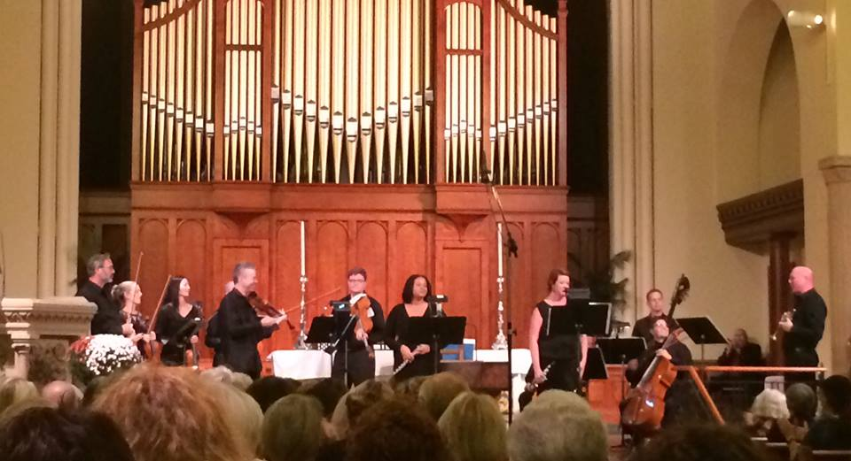 Frankly Music Ensemble - Featuring Frank Almond, Sonora Slocum, Jennifer Gunn and Mark Niehaus