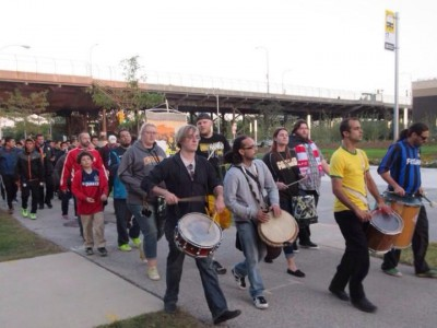 Hundreds March for Professional Soccer in Milwaukee