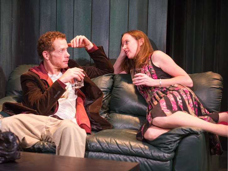 """Review: In """"The Good Father,"""" Artful Mastery of On-Stage Chemistry"""