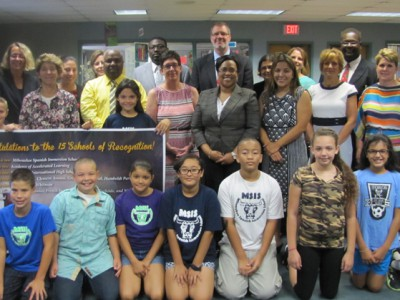 15 MPS schools honored by the state for 'Beating the Odds'