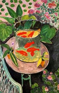 Matisse Goldfish Model for Hale Workshop