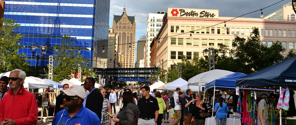 NEWaukee's Night Market. Photo by Brian Jacobson.