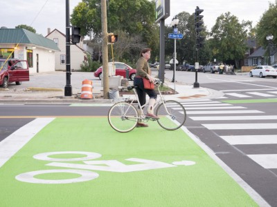 Bike Czar: Wauwatosa Goes Green With Bike Lanes