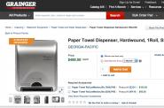 $499 Paper Towel Dispenser.