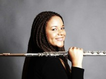 Principle Milwaukee Symphony flutist Sonora Gunn