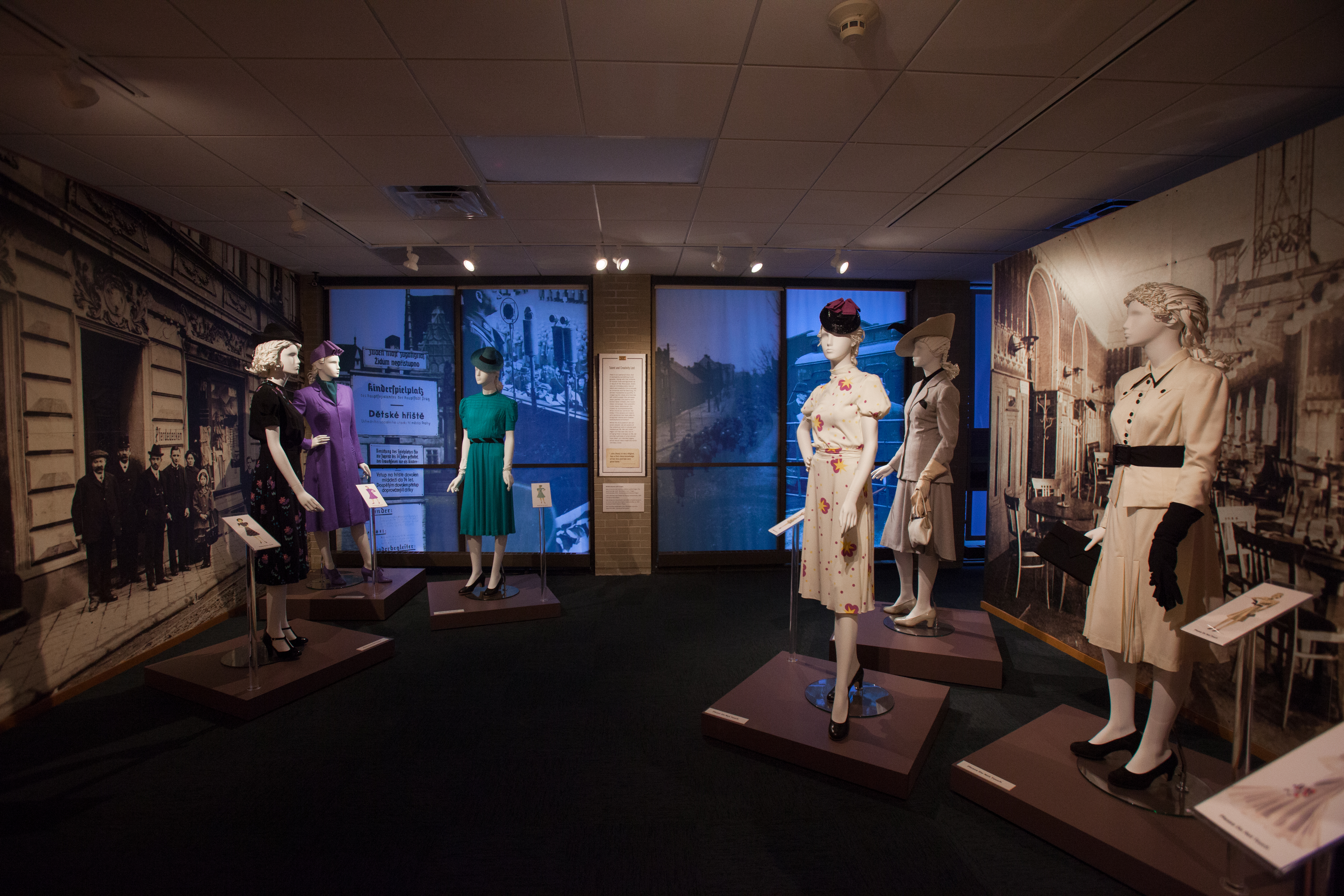 Stitching History from the Holocaust, on view at Jewish Museum Milwaukee, showcases the designs of Hedy Strnad.
