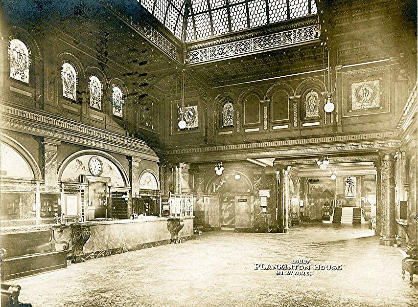 Plankinton House Hotel Lobby. Image courtesy of Jeff Beutner.