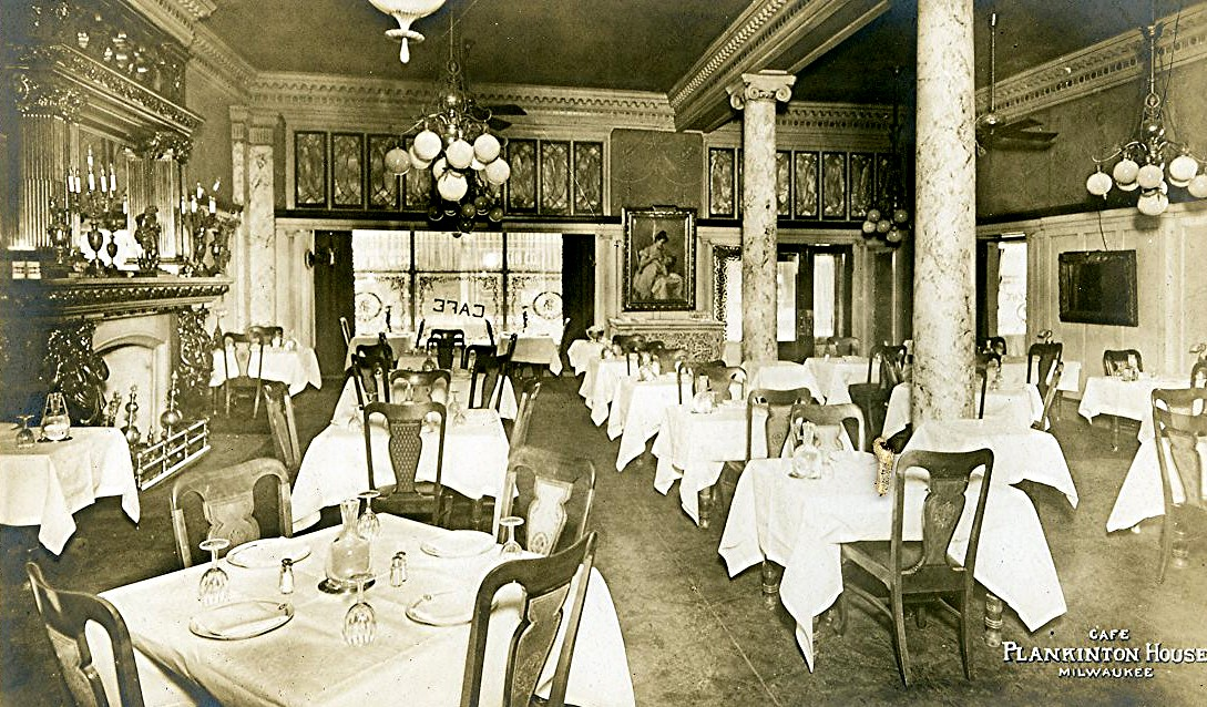 Plankinton House Hotel Cafe. Image courtesy of Jeff Beutner.