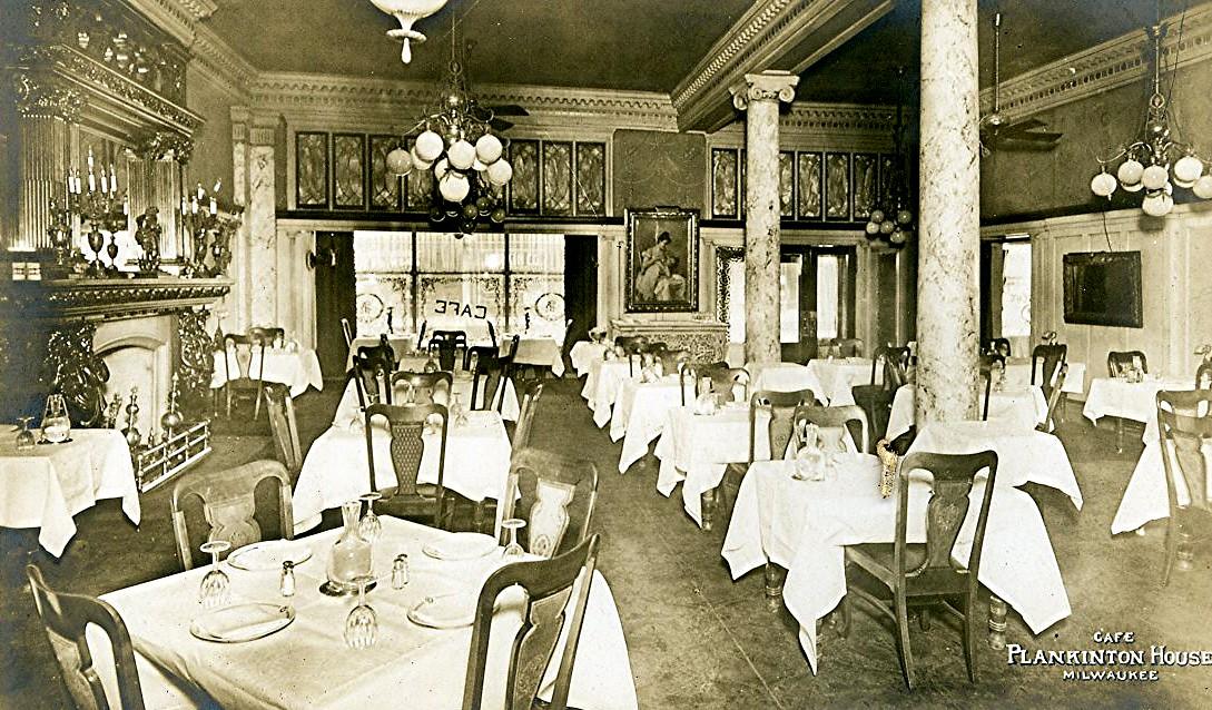 Plankinton House Hotel Cafe. Image courtesy of Jeff Beutner.