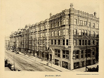Yesterday's Milwaukee: Plankinton House Hotel, 1889