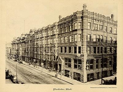 Yesterday's Milwaukee: Plankinton House Hotel, 1889