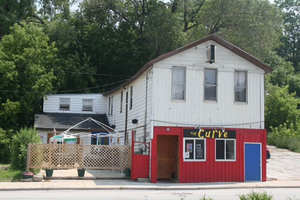 The Curve tavern on N. Water St. Photo taken July 22nd, 2014 by Jeramey Jannene. All Rights Reserved.