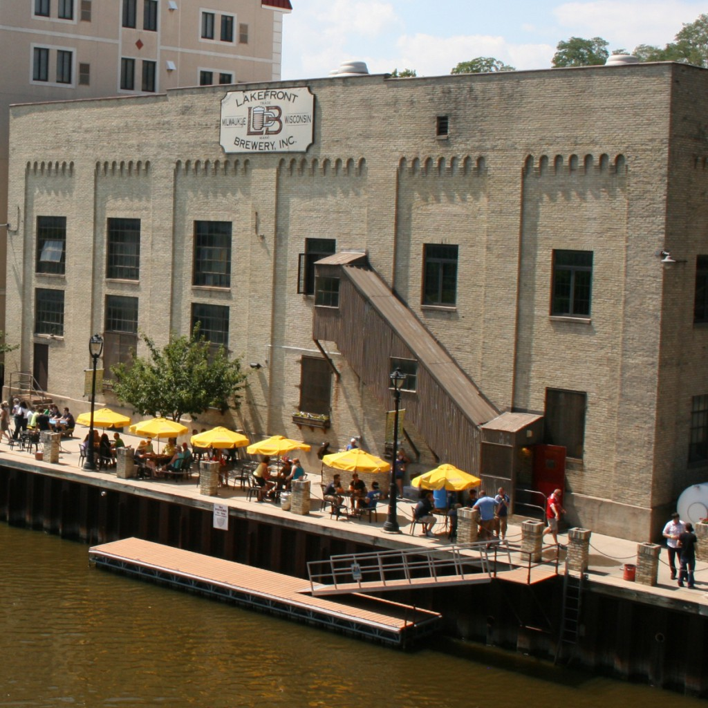 Lakefront Brewery.
