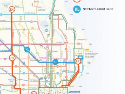 Eyes on Milwaukee: New Express Bus Routes Start in January