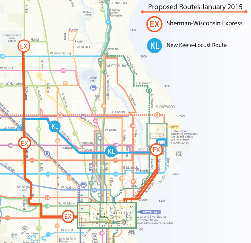 New Express Bus Routes Start In January