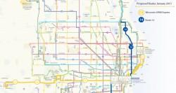 Wisconsin - UWM Express Map