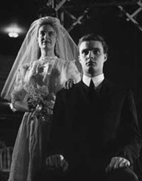"""The first time """"Our Town"""" was staged at Marquette University was 1957 with future drama teacher Joan Schwartz and the late John Loose -- probably by the famous photographer of Marquette productions at the time, the late Walter Sheffer."""