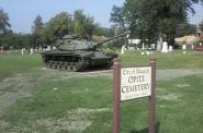 Tank. Photo by John Mankowski.