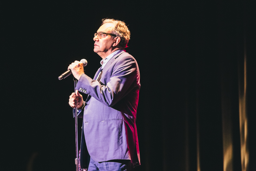 Lewis Black at the Pabst October 10th, 2014. Photo by Sara Bill.