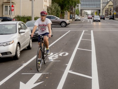 Bike Czar: Milwaukee Quietly Adds Buffered Bike Lanes