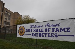 Welcome Alumni - 2014 Hall of Fame Inductees. Photo courtesy of MPS.