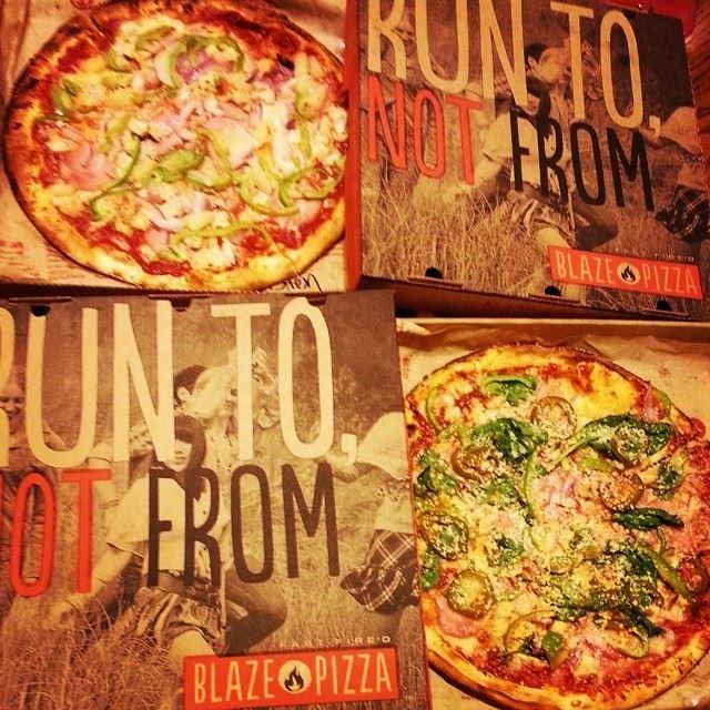 Blaze Pizza.