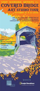 The Covered Bridge Art Studio Tour takes place this weekend.