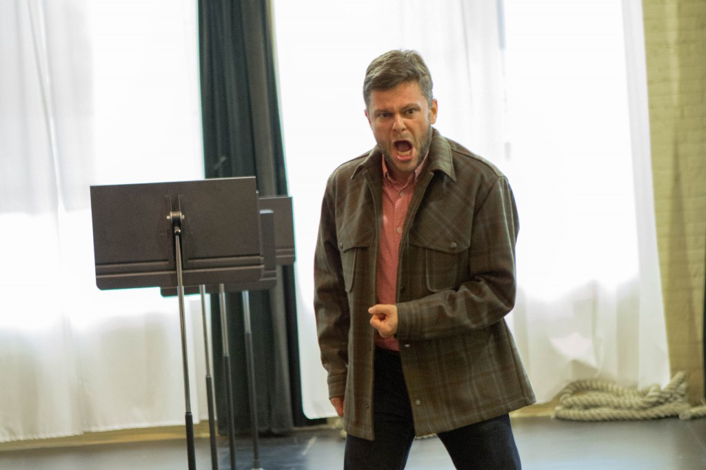 Danish tenor and International Wagner Competition 1st Prize winner David Danholt sings the role of Erik in the Florentine's new production of The Flying Dutchman Oct 24 & 26 @ The Marcus Center. Florentine Opera. Photo by Danielle Chaviano.