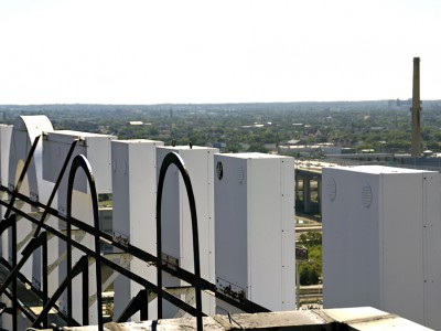 Vantage Point: From Atop the Hilton Hotel