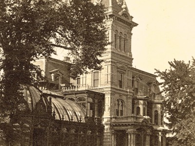 Yesterday's Milwaukee: The Lush Landscaping of Alexander Mitchell's Conservatory, 1880s