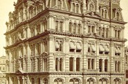 Mitchell Building, Around 1880