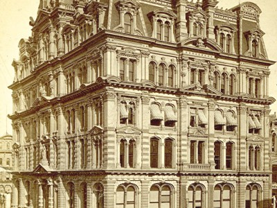 Yesterday's Milwaukee: Mitchell Building, Around 1880