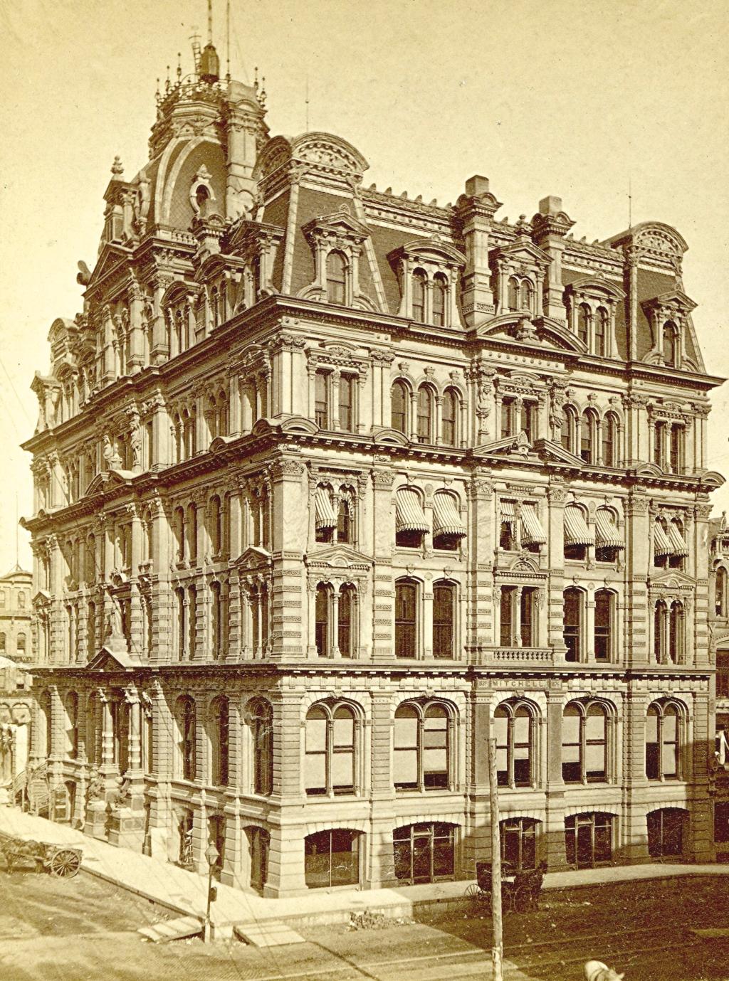 Mitchell Building, Around 1880