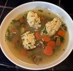 Jeff Merlot's French Chicken Dumpling Soup