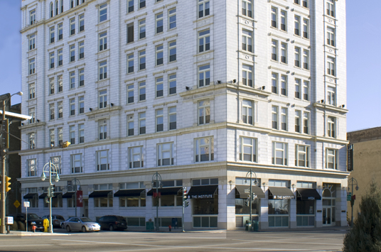 Mayer Building, 342 N. Water St. Photo from Pieper Properties, Inc. website.