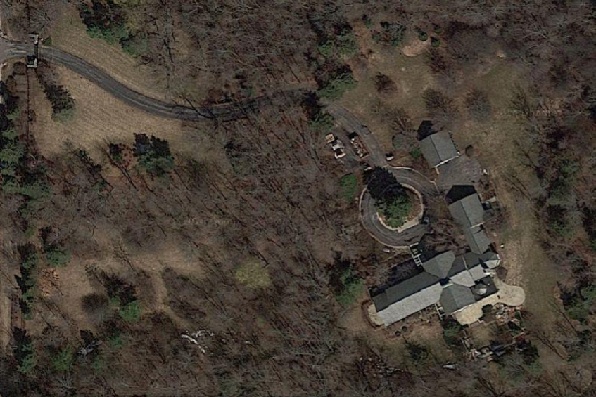 O. J. Mayo's River Hills McMansion.