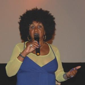 Sandra Izsadore at the L.A. screening.