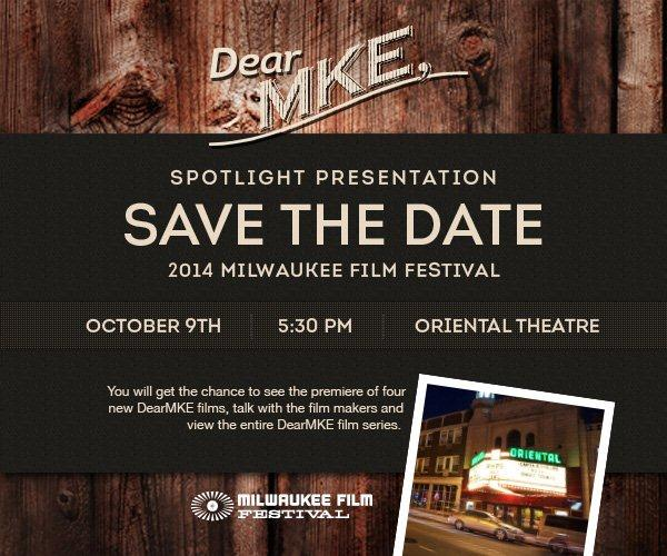 DearMKE to Premiere Four New Films at Milwaukee Film Festival on Thursday, October 9th
