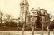 Alexander Mitchell's Mansion, mid-1870s. Image courtesy of Jeff Beutner.