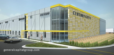 Rendering of General Capital's Century City 1, which is now under construction.