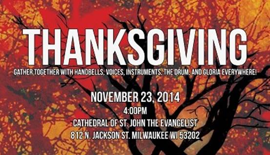 A Juxtaposition of Traditions: Present Music Presents Thanksgiving 2014