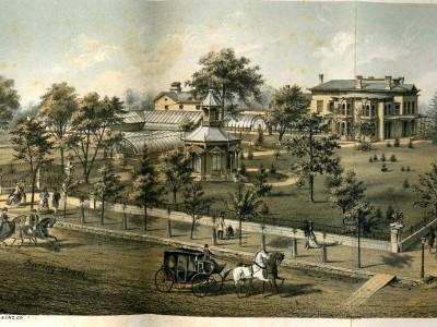Yesterday's Milwaukee: Alexander Mitchell's Mansion, 1872