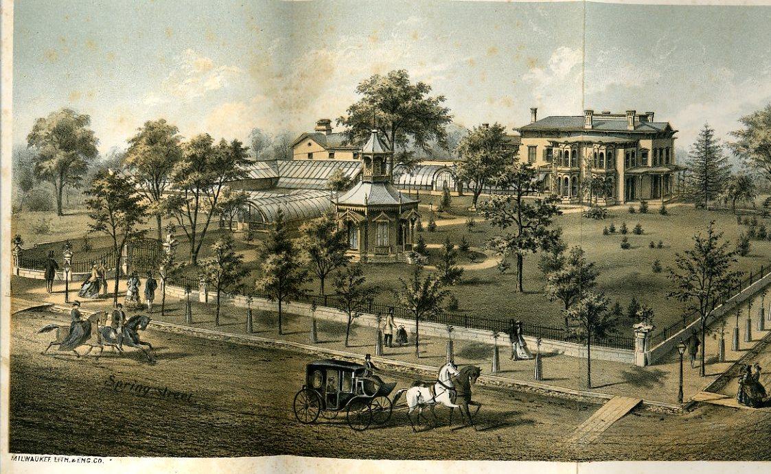 Mitchell Home, 1872