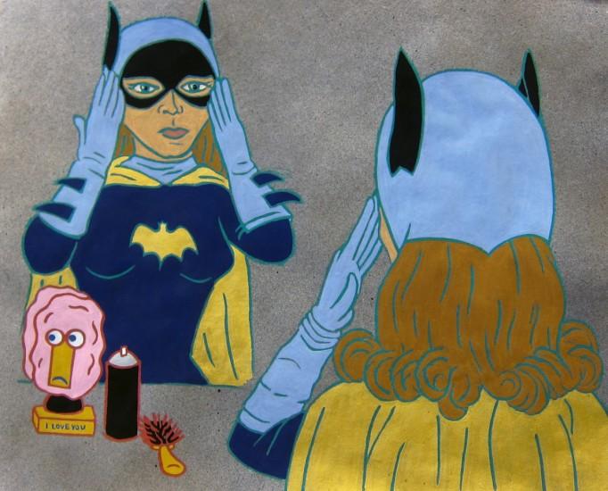 Nancy Mladenoff, The Ladies: Yvonne Craig, Batgirl. Courtesy Tory Folliard Gallery.